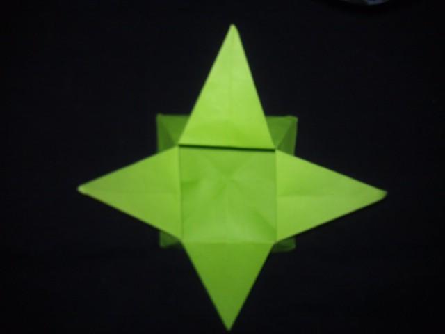 дзунако, казарибако, коробочка из бумаги, оригами, star box