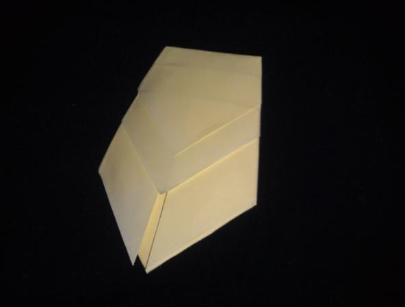 цикада, оригами