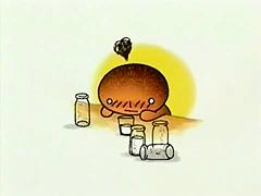 kogepan жженый хлебушек Burnt Bread, горелый хлебушек, аниме