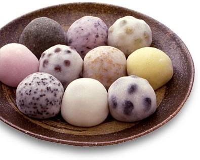 моти, японская кухня, японские моти, рисовые пирожки